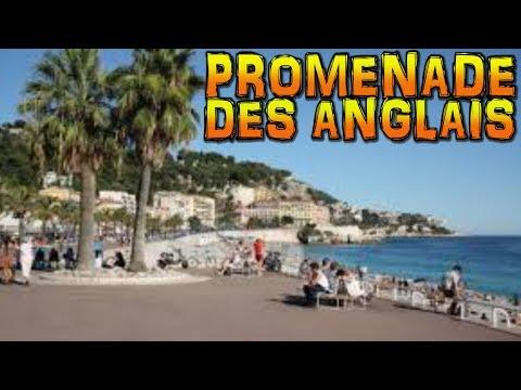 PROMENADE DES ANGLAIS - Nice - France (4K)