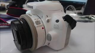 캐논100D화이트+40mm 외관 구경용