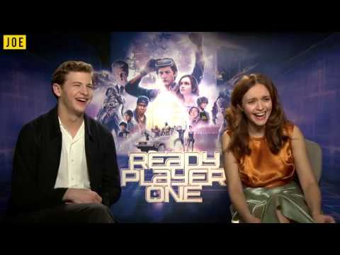 Tye Sheridan and Olivia Cooke get emotional talking about selfiesticks and