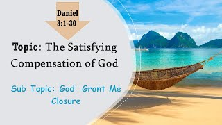 The Satisfying Compensation of God