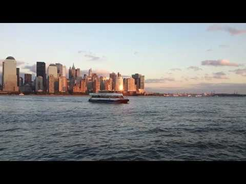 Sprint Epic 4G (Samsung Galaxy S) HD video recording demo New York City