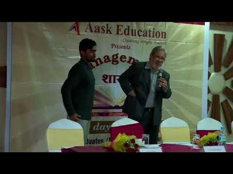 The Secret Of Success |Management Shastra 2k17 || Jaipur || Methil krish Sir|| Part 3
