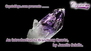 Healing Crystals Guide  Brandberg Quartz