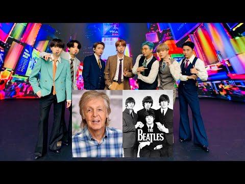Paul Mccartney กล่าวชื่นชมวง BTS @Entertainment Day 26Nov20