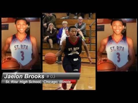 Jaelon Brooks Soph Season, St. Rita HS, Class of 2018