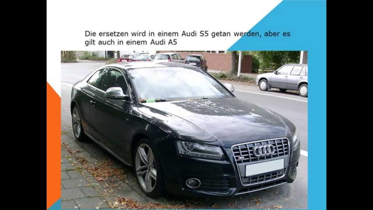 Audi A5 Innenraumfilter Pollenfilter Wechseln Youtube
