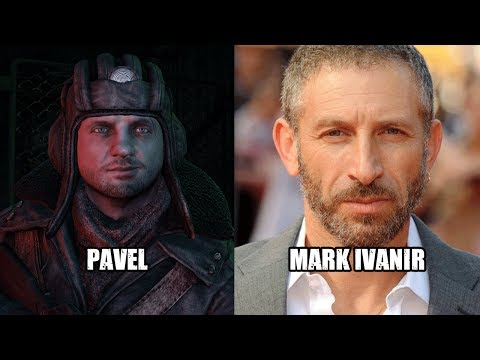 Characters and Voice Actors  Metro: Last Light