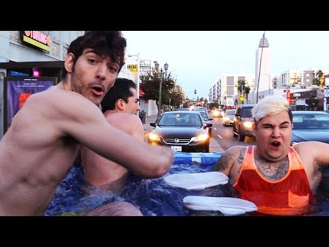 PORTABLE POOL TRUCK vs. HOLLYWOOD