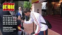 Spanische Nationalmannschaft trainiert im Montafon