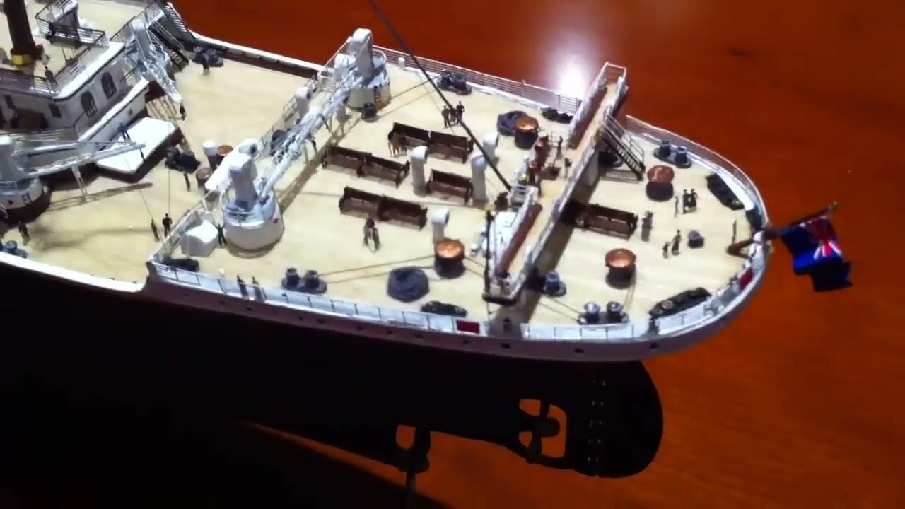 1 350 Titanic Minicraft Deluxe Adolfo Herrero Youtube
