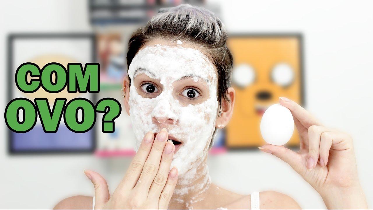 Mascara Facial De Clara De Ovo Receita Caseira Youtube
