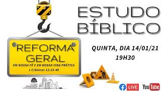 Live Estudo Bíblico 14/01/21