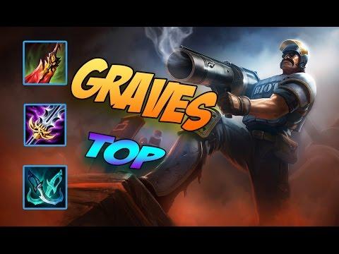 Graves TOP | Tướng Lỗi Của LMHT | Dame Quá Khủng | Cách chơi và lên đồ | Liên Minh Huyền Thoại