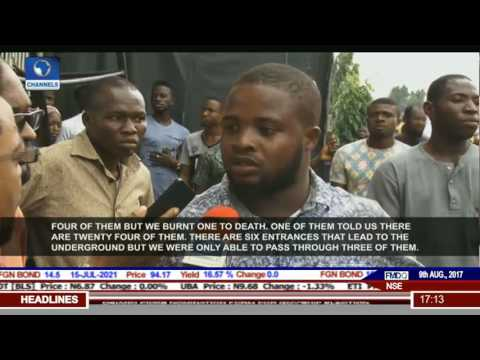 Lagos Security: Residents Of Ijaiye Discover Kidnap Den, Lynch 2 Suspects