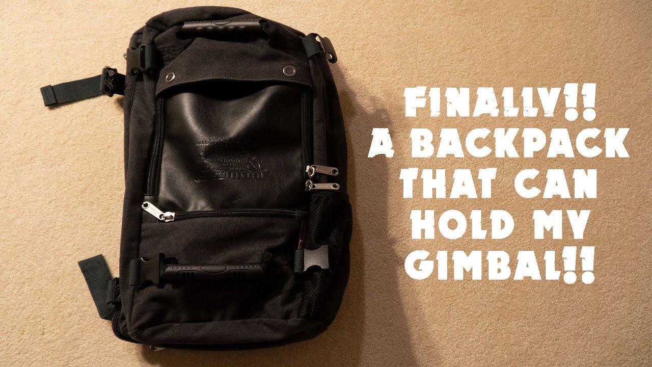 9691ef49b WITZMAN Travel Backpack Canvas Rucksack Vintage Duffel Bag A2021 (21 INCH  Black) Review