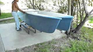 folding cat hulls cart