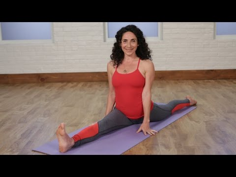 2 yoga poses to build up to the splits  class fitsugar
