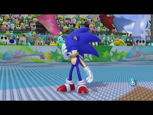Mario & Sonic en los JJOO de Invierno Sochi 2014 - Leagues Showdown - FINAL - HD Travel Video