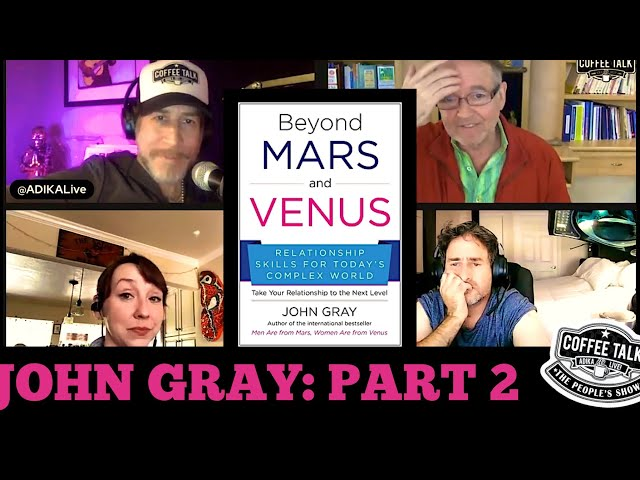#1280 What Happens When Men and Women Reverse Roles with Author John Gray