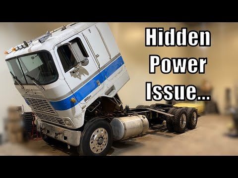 Major TURBO Boost Leak On The Air Force Cabover...
