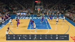 5 players no jump dunks