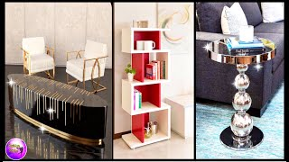 DIY COFFEE TABLE, SIDE TABLES AND CABINETS USING CARDBOARD | ART AND CRAFT | FASHION PIXIES