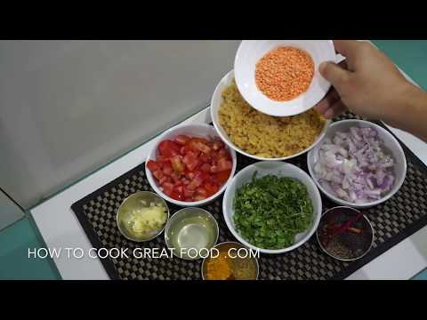 🇬🇧🇮🇳🍅 🍆 Indian Lentil Stew – Dal Masoor Recipe Vegan Curry