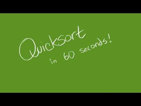 Cube Drone - Quicksort in 60 Seconds