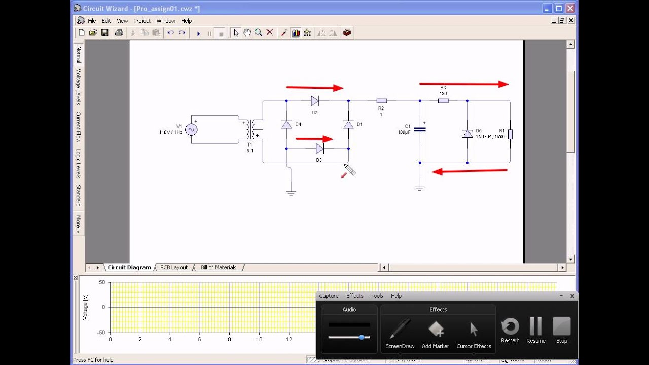 Full Wave Bridge Rectifieravi Youtube Rectifier Circuit Diagram