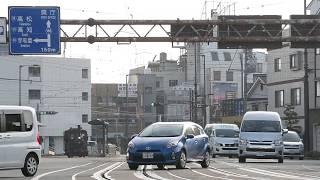 2018.01.20.伊予鉄道「坊ちゃん列車」第1編成@道後温泉