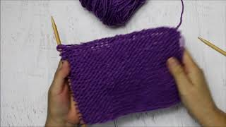 An Easy Learn To Knit Video Series (Video Two)