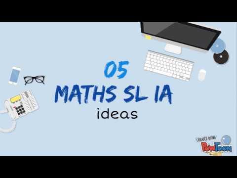 5 MATHS SL IA IDEAS! (IB)
