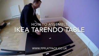 IKEA T REND Table, black