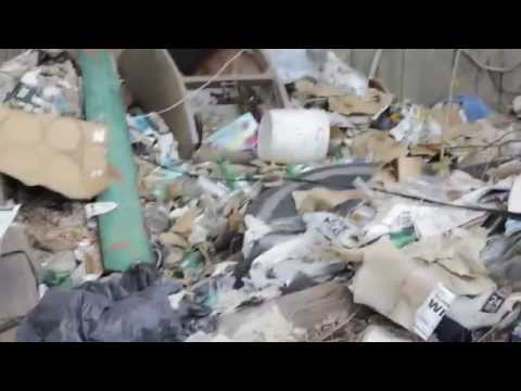 A walk with Paul Perez as he speaks about trash problem in the City of Trenton