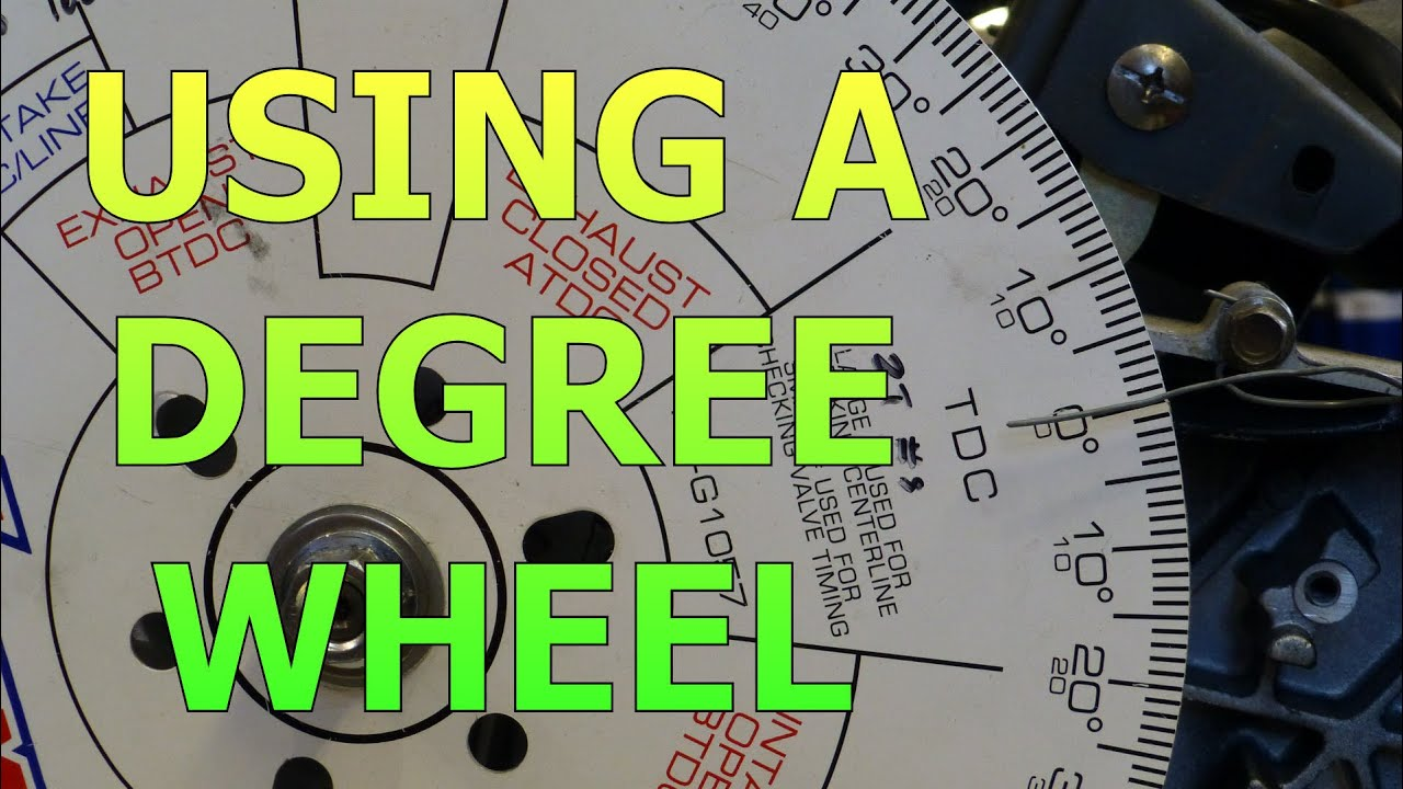 Setting Up A Degree Wheel And Finding True Top Dead Center Tdc Gx160 Wiring Diagram