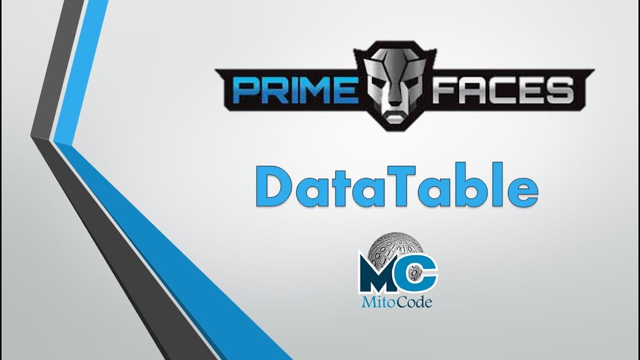 Primefaces DataTable