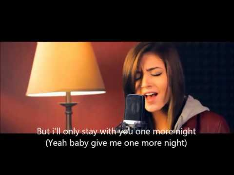One More Night Cover Lyrics + Chords by Alex Goot and friends