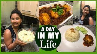 MY WEDNESDAY VLOG || PREPARE DELICIOUS BENGALI DINNER || EGG KOSHA & PULAO