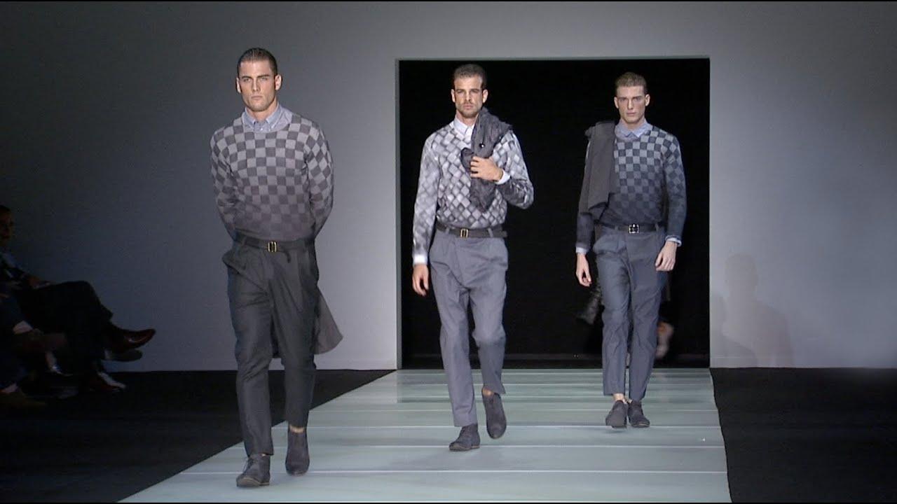 c17a029a6f9b Giorgio Armani - 2012 Spring Summer - Menswear Collection - YouTube
