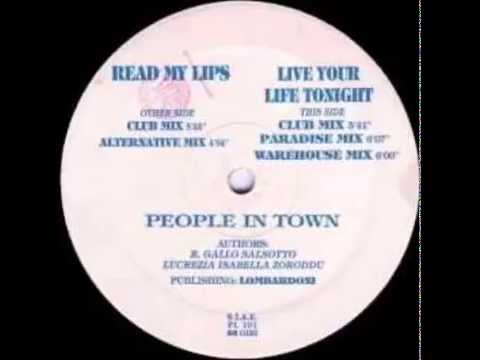 PEOPLE IN TOWN - READ MY LIPS - HQ WAV Sound