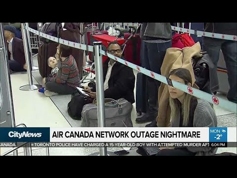 Air Canada outage frustrates March Break travellers