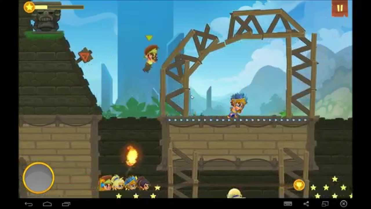 Dash Legends Multiplayer Race android game first look gameplay español