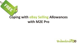 Coping with eBay Selling Allowances with M2E Pro (Magento)