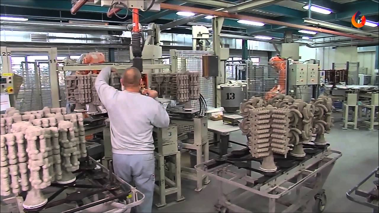 Ceramic shell building | CIREX Lost wax investment casting