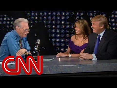 Donald and Melania Trump's interview as newlyweds (CNN Larry King Live)