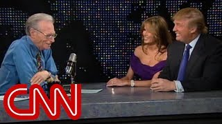 Download lagu Donald and Melania Trump as newlyweds (2005 CNN Larry King Live full interview)
