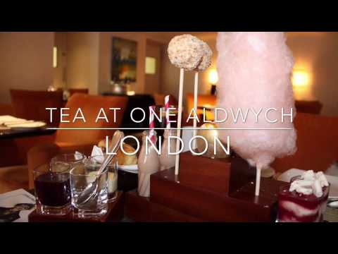 Charlie and the Chocolate Factory Tea at One Aldwych, London