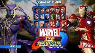 marvel vs  Capcom: Infinite ОБЗОР  2017  ПЕРВЫЕ МИНУТЫ ИГРЫ