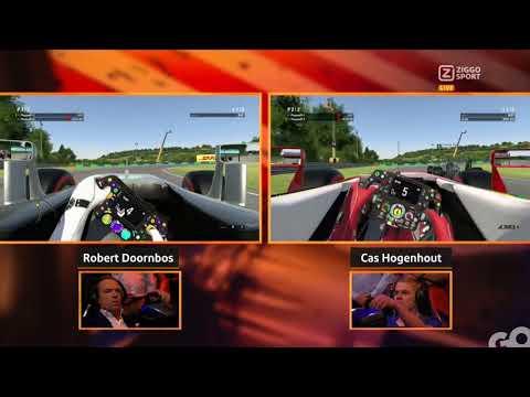 F1 Café: Ziggo EBattle Hongarije - Robert Doornbos Vs Cas Hogenhout
