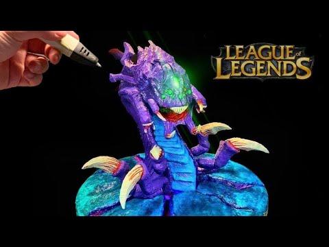 create-nashor-baron-with-3d-penㅣleague-of-legends